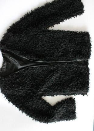 Шубка полушубок  жакет из эко меха барашек демисезонная