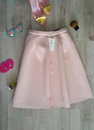 Красивая новая юбка миди из неопрена reserved