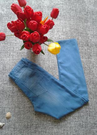 Стильные голубые бойфренды размер 28 американский бренд размер 13