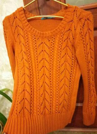 Теплый свитер ( заказывала на модной касте)