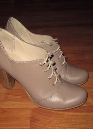 Кожаные туфли lexi