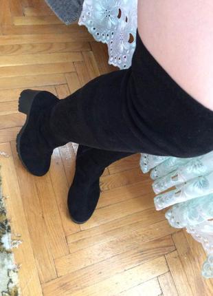 Ботфорты весенние, сапоги, ботинки, ботильены, высокие сапоги