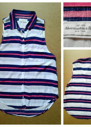 Фирменная блузка abercrombie&fitch, размер м