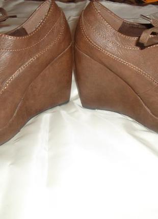 Ботиночки на высокой платформе