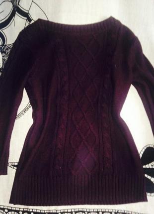 Ostins s-m свитер кофта баклажан обмен