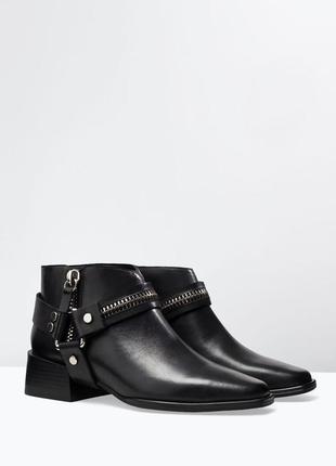 Удобные ботинки от zara