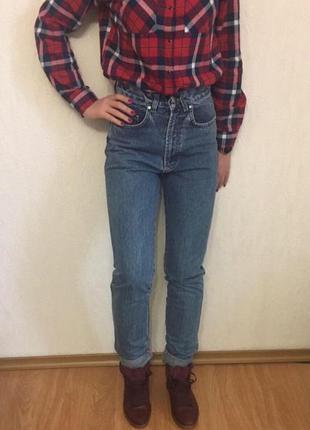 Женские джинсы американка мом