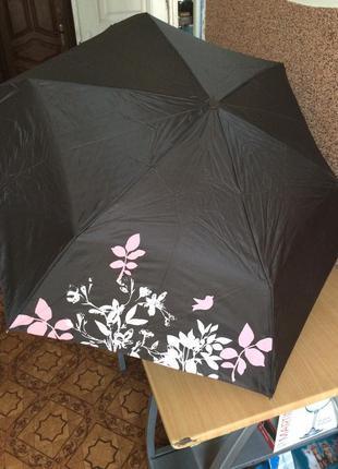Зонтик yves rocher шоколадного цвета