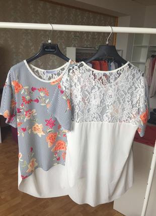 Блуза с принтом  от rinascimento (италия). в наличии
