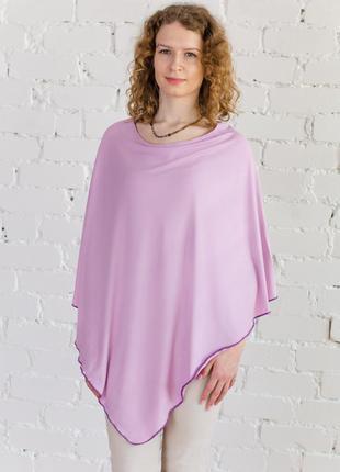 Пончо для кормящей или беременной мамы, цвет розовый, бренд poncho pelerino