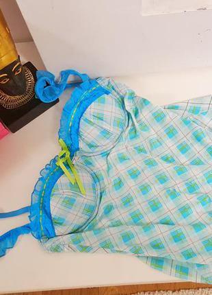 Новий пеньюар бюстье нічна сорочка victoria's secret 34 b  (75 в) оригінал