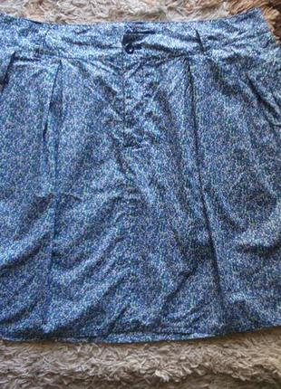 Летняя юбка в цветочек фирмы gap
