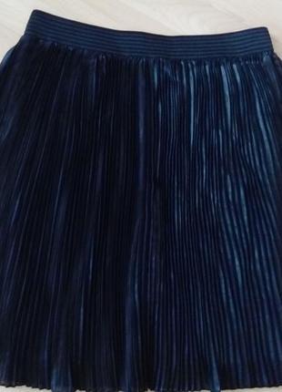 Плиссированная юбка promod тренд сезона