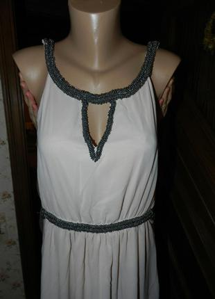 Новое платье в пол anna field 42 размер