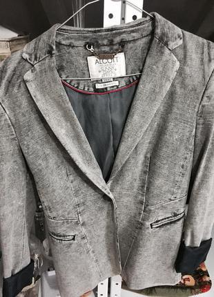 Пиджак серый alcott