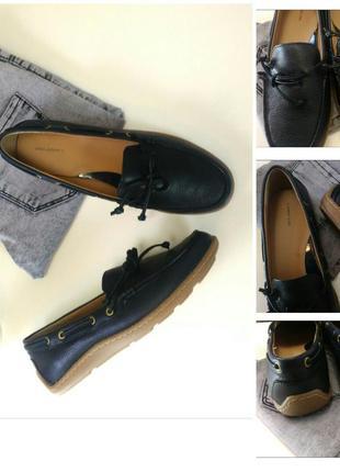 Лоферы - ботинки из натуральной кожи