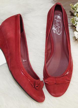 (41р./26,5см) footglove! замша! красивые комфортные туфли