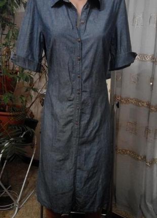 Платье деним