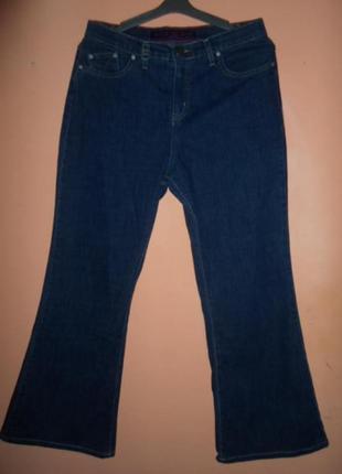 Летние джинсы-стрейч, бренд marks&spenser per una