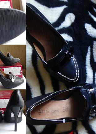 Туфли на высоком каблуке на шпильке