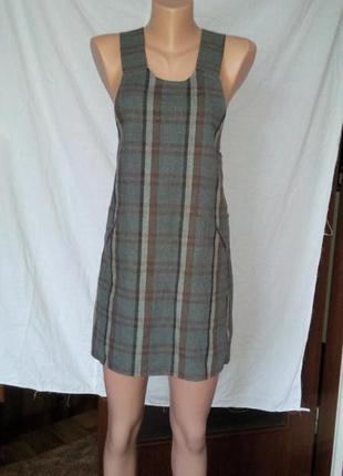 Платье сарафан короткое шерстяное теплое для беременных 46 48 размер мини