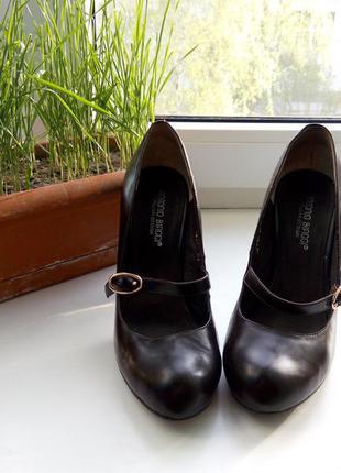 Коричневые туфли antonio biaggi для золушки