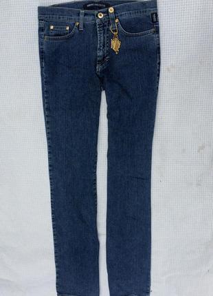 Классические прямые синие джинсы versace