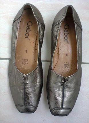 Туфли  от  gabor.