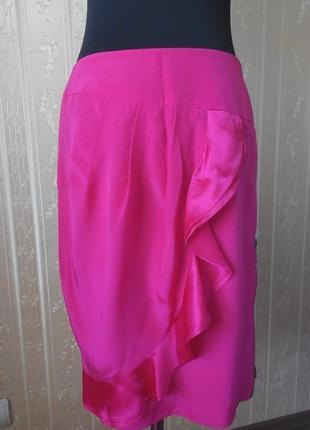Красивая шёлковая юбка