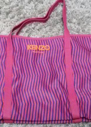 Пляжна сумка шоппер kenzo