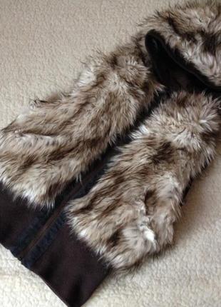 Новая шикарная меховая жилетка бренд sela, идеально на весну! (с эко-меха)
