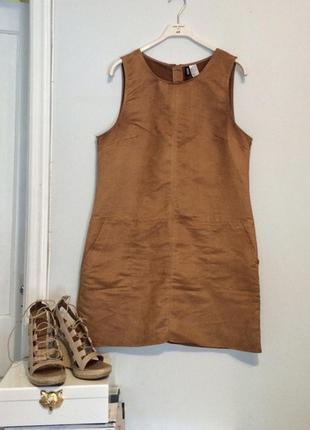 Маленькое платье, под замш, от  h&m.