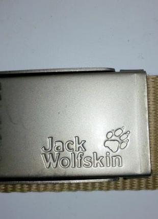 Ремень jack wolfskin