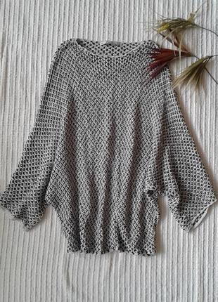 Отличная вязанная кофта блуза от zara knitwear,p.m