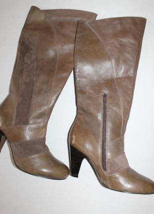 Новый завоз обуви сегодня! 41 разм. кожа сапоги вата. цена на этикетке 129 евро