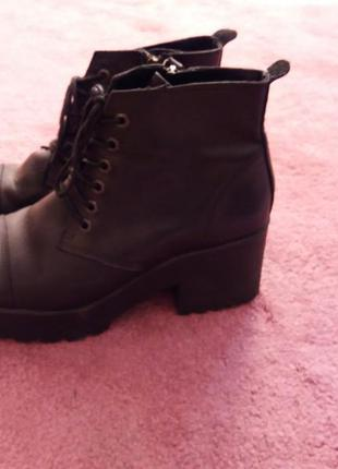 Туфли из натуральной кожи new look