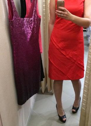 Красное платье s.oliver