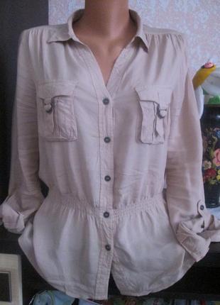 Стильная фирменная рубашка h&m