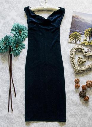 Шикарное бархатное платье dorothy perkins
