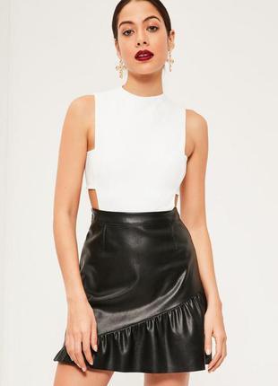 Боди tab side bodysuit white