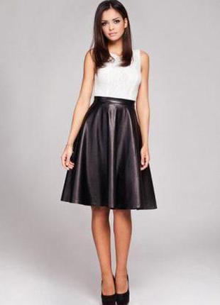Большой выбор юбок разных размеров и фасонов юбка под кожу клеш