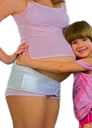 Бандаж дородовый для худенькой беременной женщины