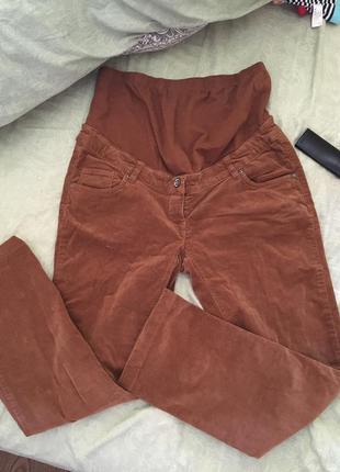 Вельветовые брюки для беременных c&a