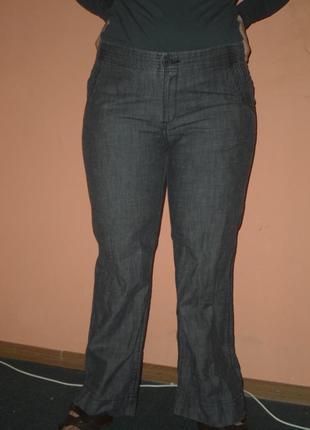 Комфортные летние брюки из 100% хлопка