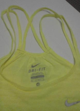Nike dri-fit майка спортивная.  новая