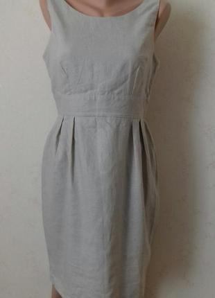 Льняное платье asos