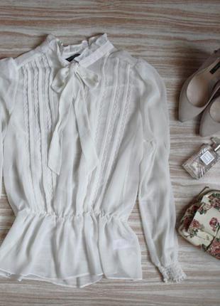 Милая шифоновая блузка №163