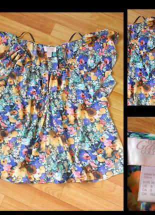 Фирменная блузка h&m, размер 36\6