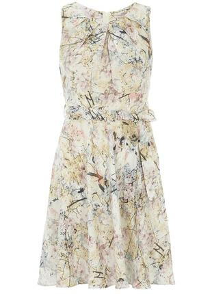 Цветочное платье новое