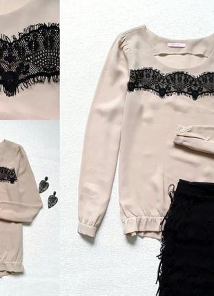 Стильная блузочка  цвета пудры edc by esprit